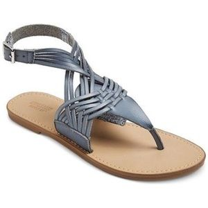 Mossimo supply co. Johanna sandals in blue size 7